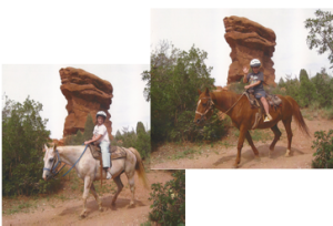 Denver Parent Colorado Springs Horseback Riding In The Garden Of The Gods And Manitou Cliff