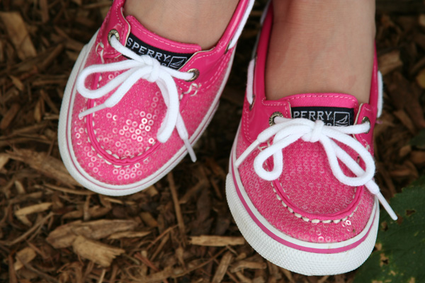 Sperry Top Sider Biscayne in Pink Sequin