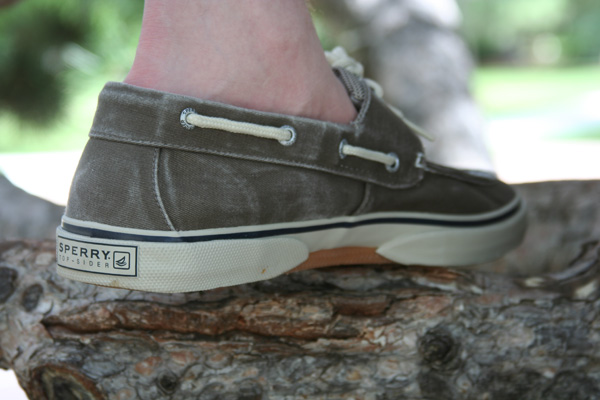 Sperry Top Sider Halyard in chocolate