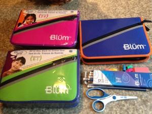 Blum school supply packs