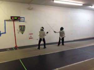 Even children as young as 6 are welcome at Denver Fencing Center