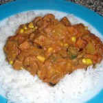 Colorado Cooking – Chicken, Rice and Peanut Stew