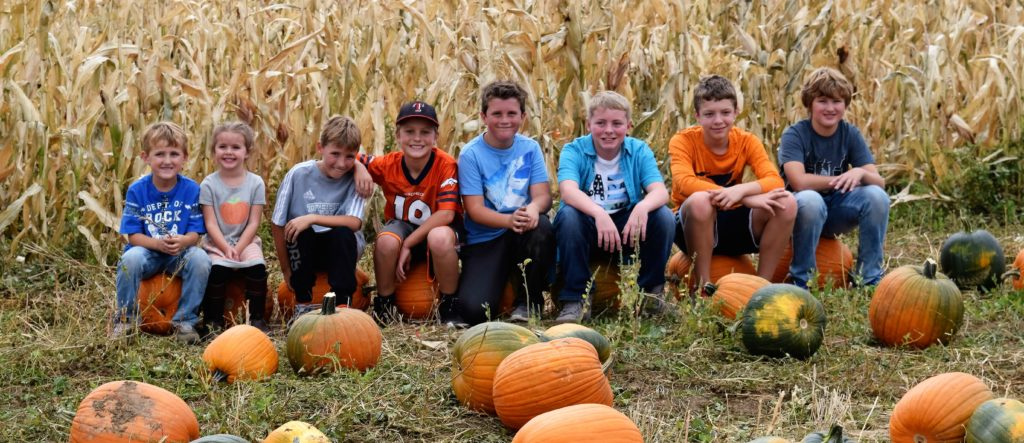 kids at Cottonwood