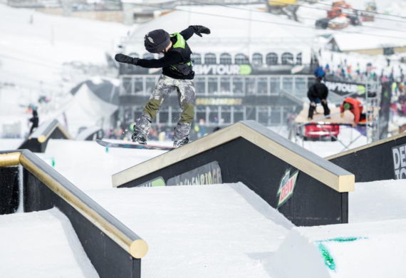 Red Gerard @ Dew Tour - from his Instagram Feed