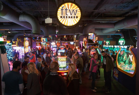 For the Win (FTW) grand opening event at FTW and Lucky Strike in Denver, Colorado, on Wednesday, Jan. 11, 2017. Photo Steve Peterson